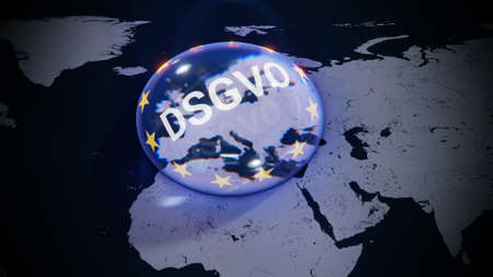 ePrivacy DSGVO Europe EU GDPR Standard-Bild - 102914650