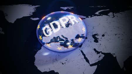 ePrivacy DSGVO Europe EU GDPR Standard-Bild - 102909624