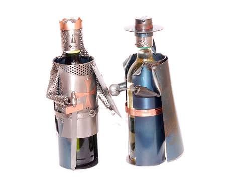 the novelty: Novelty Wine holders Stock Photo