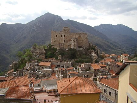 Castelvecchio di Rocca Barbena, Savona, Liguria-Italy Stock Photo - 14164003