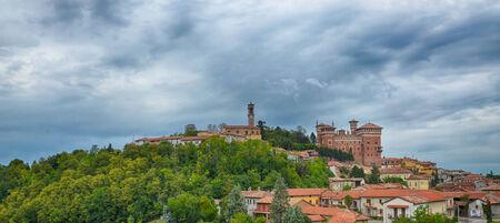 Cereseto Village in the Monferrato region, Alessandria, Italy Banco de Imagens