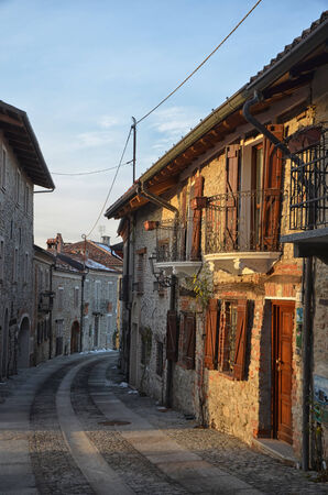 Bossolasco  Cuneo , Italian Village in the Langhe region, Piedmont