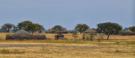 Traditional African Village in Tanzania