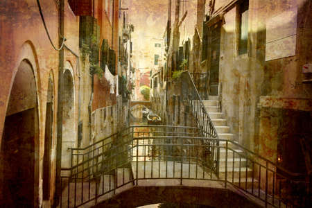 Postcard from Italy. -  Urban Venice.