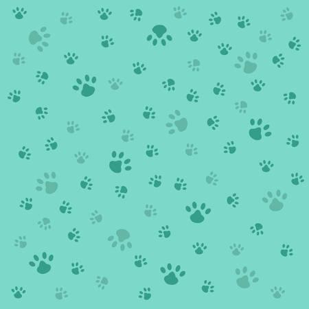 Achtergrond met hond pootafdruk