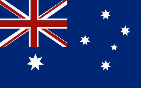 Australia Flag illustration.