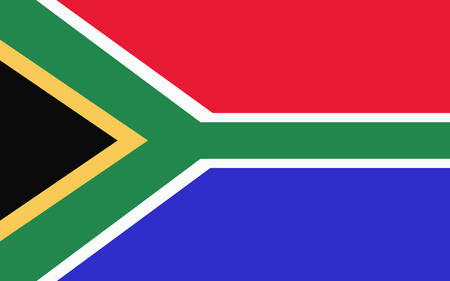 apartheid in south africa: South African flag