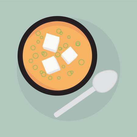 Miso Soup Ilustração