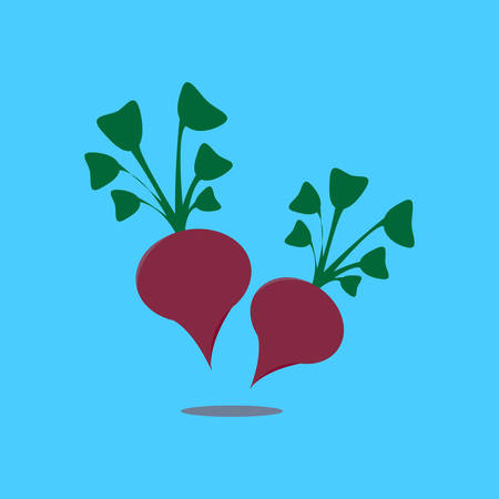 Beetroot icon.