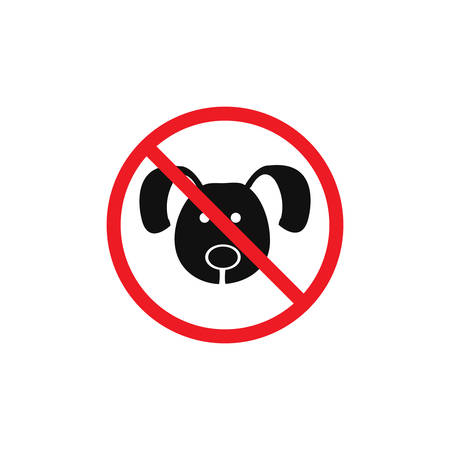 Pets are not allowed symbol