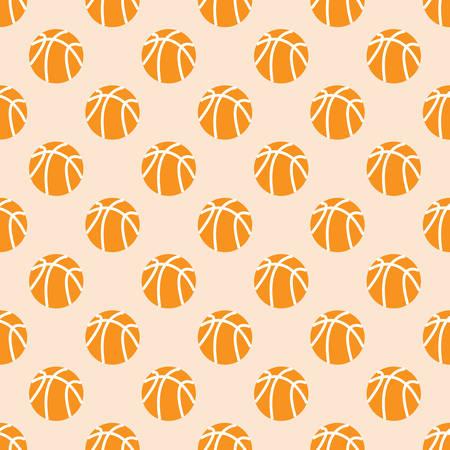 Basketball seamless pattern background