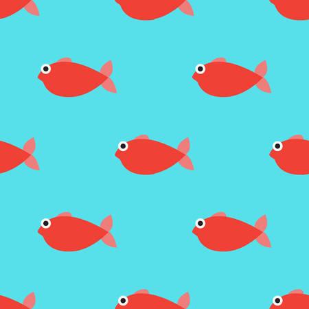 fish seamless pattern background