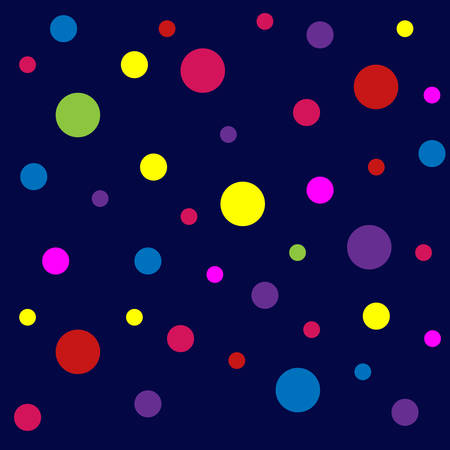 Vector abstract pattern with dots. Colorful background