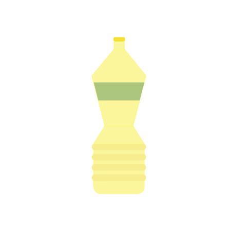 Bottle of vegetable oil icon