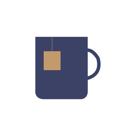 hot tea cup icon- vector illustration Иллюстрация