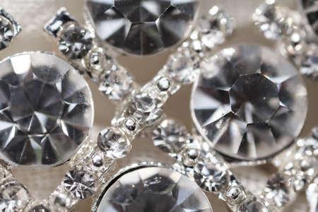 shine: Decorations dress, rhinestones, diamonds shine brightly in