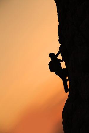 crazy rock climber