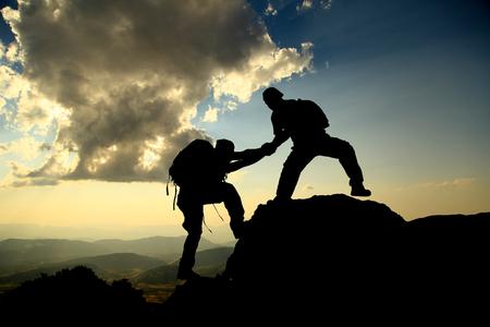 bergbeklimmer gebaar