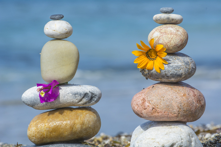 zen steine: zen stones Lizenzfreie Bilder