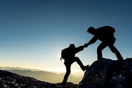 등산 등산 전투기 스톡 콘텐츠