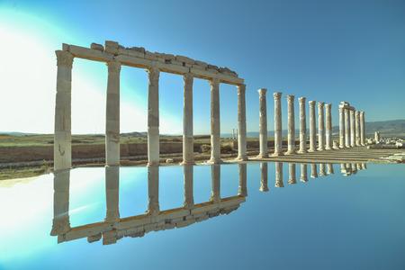 entranceway: the ancient city of Laodicea