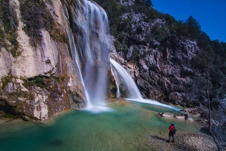 man that follows the waterfall