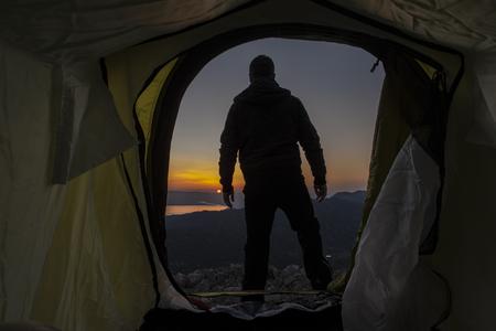 winning mood: camp in peak time