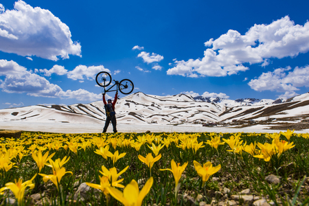 an unusual: bike expedition in unusual places