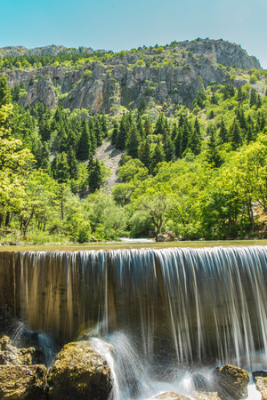 water quality: natural habitats and Water Resources Stock Photo