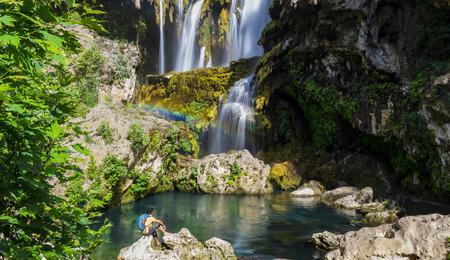 hidden paradise waterfall