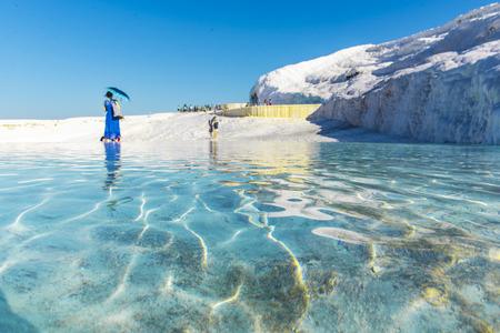 Pamukkale tourism paradise