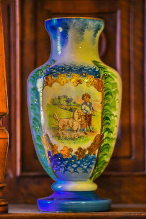 antique vase: valuable antique vase Stock Photo