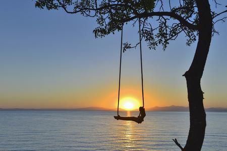 Sunrise, holiday, peace and sunshine