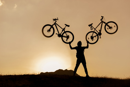 unusual & creative cyclist cyclist