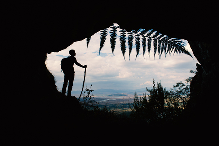 cave exploration trip