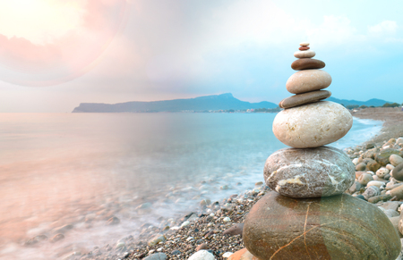 energy needs: sea ??and zen stones