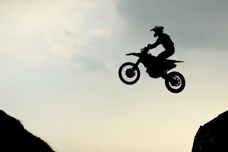 enduro racen Stockfoto