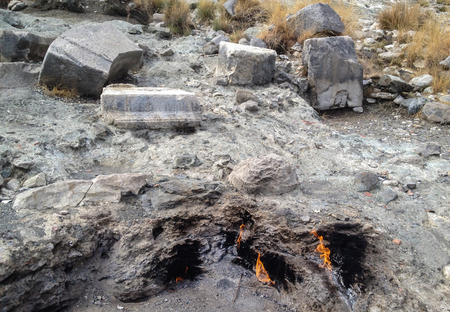 volcanic stones: Olympos and volcanic stones in space history