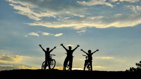 conservationist: bike team loves nature