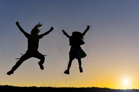 joyful, peaceful and happy individuals