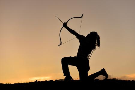 figuring: Archery training