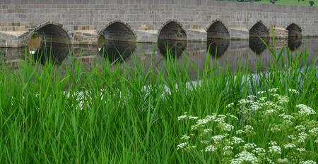Ottoman Period Bridge Bada Stock Photo