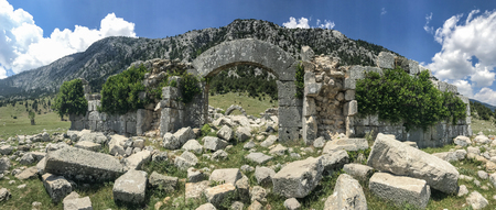 Tolhan;old Seljuk caravanserai structures