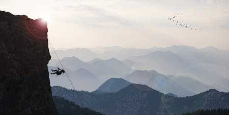 professional rock climber