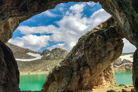 open windows: Unusual caves in the mountains