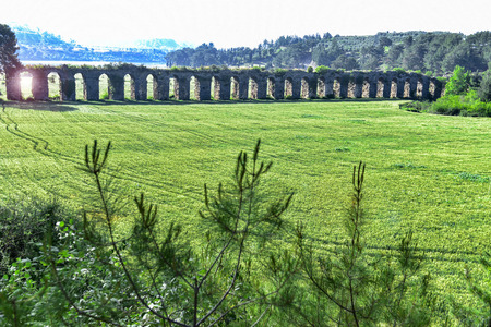 history of the ancient aqueducts