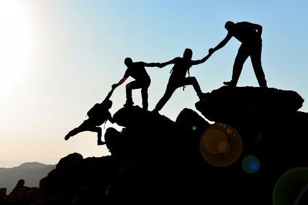 jedność, losowanie i duch zespołowy Zdjęcie Seryjne