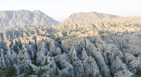 unusual mountains of the mediterranean region