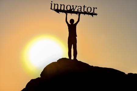 Innovation, Innovation, Development and Future Фото со стока