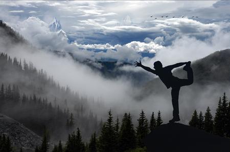 foreste, montagne e concetto di terapia